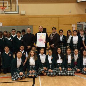 Archbishop Michael Miller's Visit