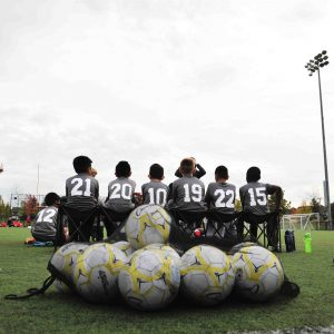 Junior Boys vs. Sacred Heart 2015