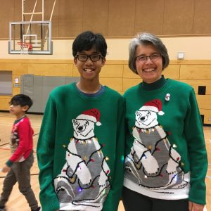 Christmas Sweater Dress Up Day 2018