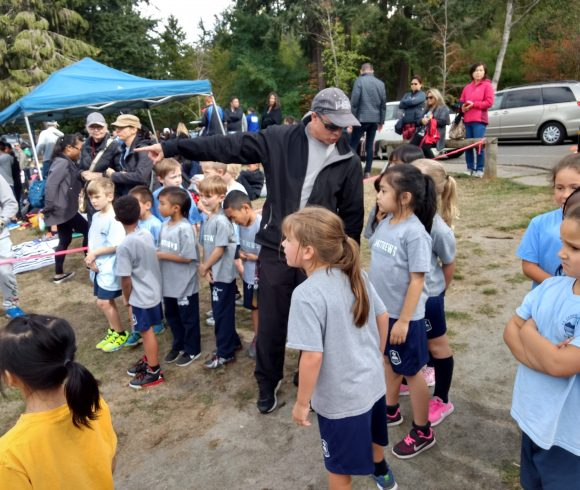 Star of the Sea Cross Country Meet at Crescent Beach