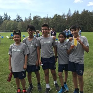 Cross Country – Star of the Sea Tournament September 2018