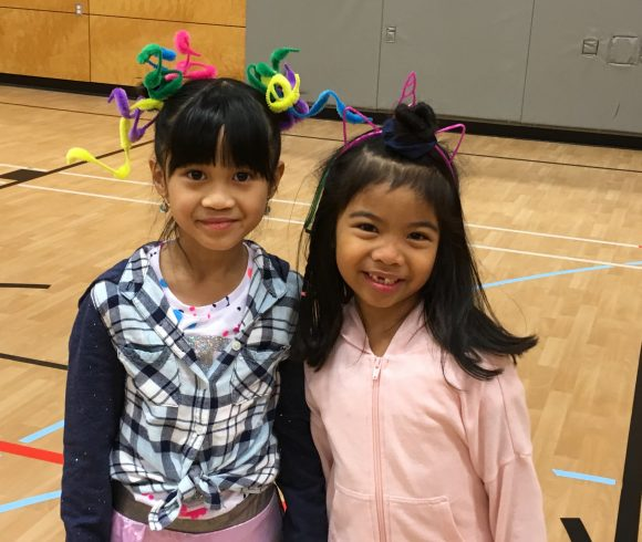 Crazy Hair Day January 2019