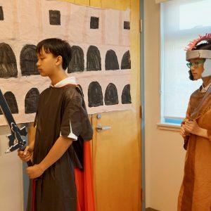 Grade 7 Wax Museum Exhibit