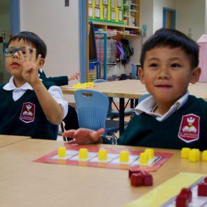 Kindergartens hard at work!