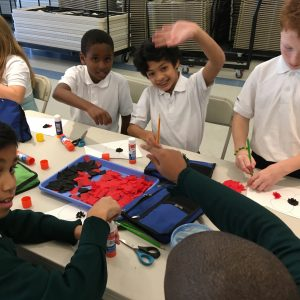 Grade 6 and Grade 7 Art Activity November 2019