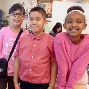 Pink Shirt Day Photos