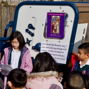Stations of the Cross – Grade 4 – March 6, 2020