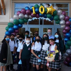 First Day of School – 10th Anniversary of St. Matthew's Elementary 2021-2022!